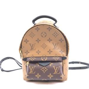 CrossbodyMonogram Reverse Canvas Backpack